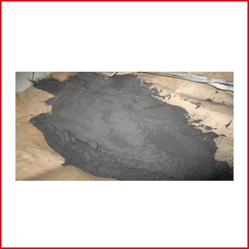 تصويري از ذغال فرآوري شده در آزمايشگاه كارخانه چاووش معدن